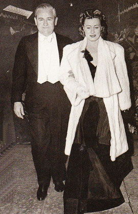 Irene with husband Frank Griffin, dentist turned businessman in 1940