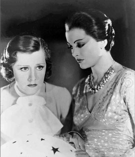 as Laura Stanhope with Myrna Loy