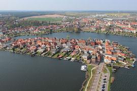 Insel Malchow Mecklenburg-Vorpommern Luftbild