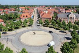 Luftbilder LuLu - Ludwigslust von oben - Luftbild-Drohne Mecklenburg-Vorpommern