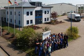 Imagefoto Luftbild Drohne - Wittenberg Firma LOTUS Mecklenburg-Vorpommern