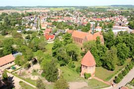 Klosteranlage Neukloster - Mecklenburg Vorpommern Luftbild Drohne