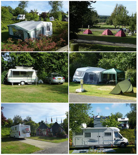 Camping municipal du Champ Passais - Domfront, Normandie, Orne