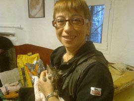 Zia Claudia ha prestato le prime cure