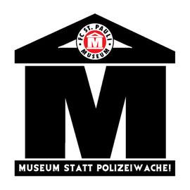 Sticker: Museum statt Polizeiwache!