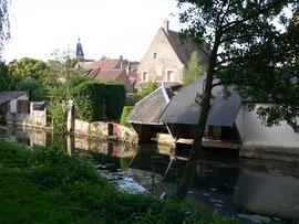 Pontgouin, les bords de l'Eure