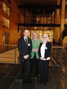 Mario Martin, Stefanie Vogelsang MdB (Federführende für unsere Petition), Barbara Martin