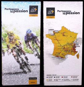 Carte Tour de France 2017
