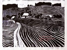 893; Emmentaler Landschaft von Kurt Siegenthaler