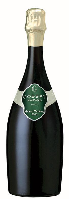 Der Grand Millésime 2006 ist der Nachfolger des Grand Millésime 2004 und soll an dessen Erfolgsgeschichte anknüpfen. ©Champagne GOSSET