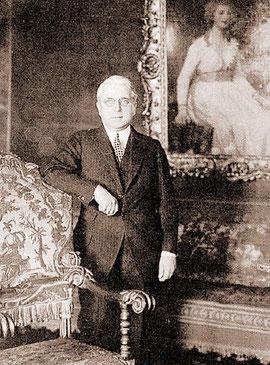 John N. Willys (1873-1935) Den Erfolg des Jeep durfte er leider nicht mehr erleben.