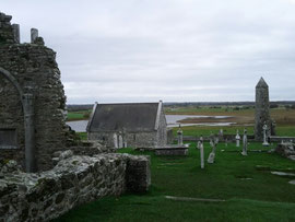 Clonmacnoise mit River Shanon