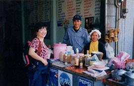タイ、ピマーイのローカル食堂