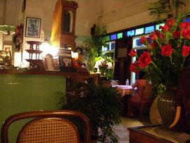 ホンテウ(レストラン)の店内