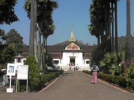 ルアンパバーンの国立博物館