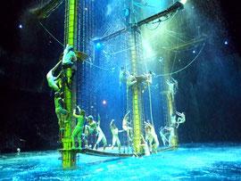 水舞間のステージ