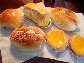 リスボアホテル内のベーカリーで買ったパン