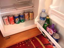 リスボアホテルの冷蔵庫