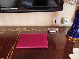 リスボアホテルの客室設備(有線LAN)