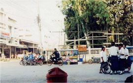ピマーイのバスターミナル