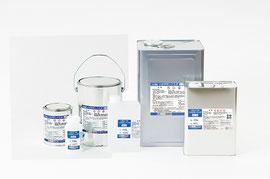 『ハネダボンドエポ』コンクリート乾燥面・湿潤面・油汚れ面・樹脂塗材などに塗布することで、下地調整材の接着増強をサポートするショートフィラーシステム専用プライマーです。