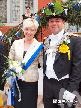 Unser Königspaar: Julia I. und Torsten I.