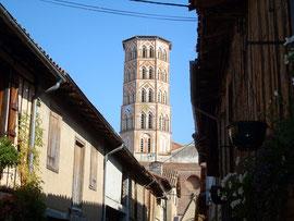 Lombez et sa cathédrale au clocher octogonal