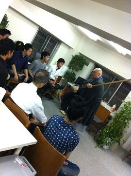 「渋谷の朝学」:『朝坐禅』へようこそ! の模様