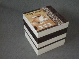 boîte carré décorer