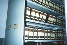 イスラエル<テレジンの家>資料館にある、膨大な犠牲者のリスト