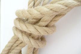 Seil als Symbol für Entstrickung