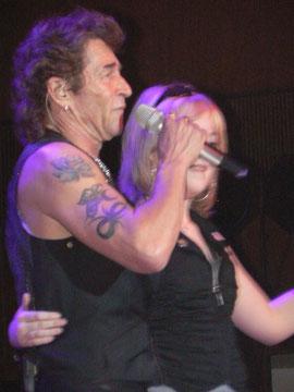 Nicole mit Peter Maffey