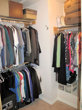Adding Organization to Closet Port Orchard, Wa