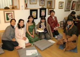 やっこさん、扶起ちゃん、Miyuki、勝子さん、高橋先生、定男さん