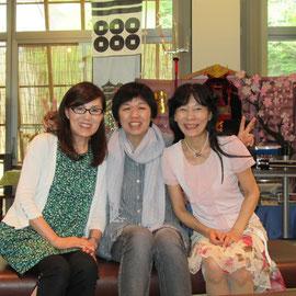 岡谷市と長野市から来てくれたMiyukiさんの友人