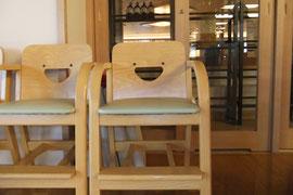 ニコニコ椅子…