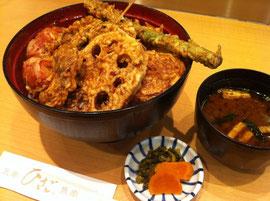 ひさご野菜天丼