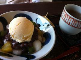 牛島製茶白玉クリーム