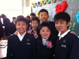 八女私立福島小学校卒業式