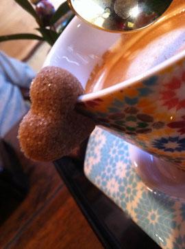 そば茶房 温人コーヒーのお砂糖