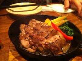 サクマル豚の料理