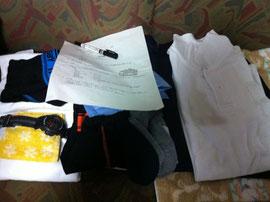 修学旅行の準備