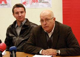 Raoul Jennar et O. Besancenot