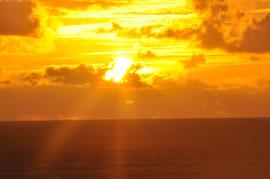 Sonnenuntergang im November