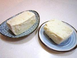 塩麹豆腐 絹vs木綿!