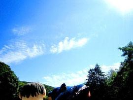 いい天気で良かったね!