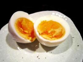 美味しい美味しい半熟卵