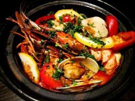 ポルトガルの鍋料理 カタプラーナ