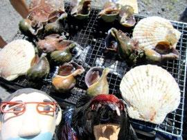 海鮮焼きも美味しそうだよ。