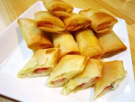 イタリアン♡かにかまチーズ焼き